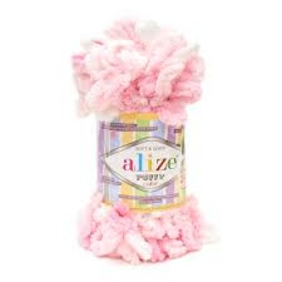 Alize Puffy Color, 100% полиэстер, цв. 5863